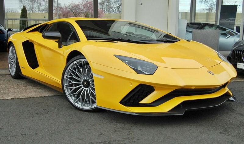 Lamborghini Aventador S Carbon Komplett Sensonum Lift