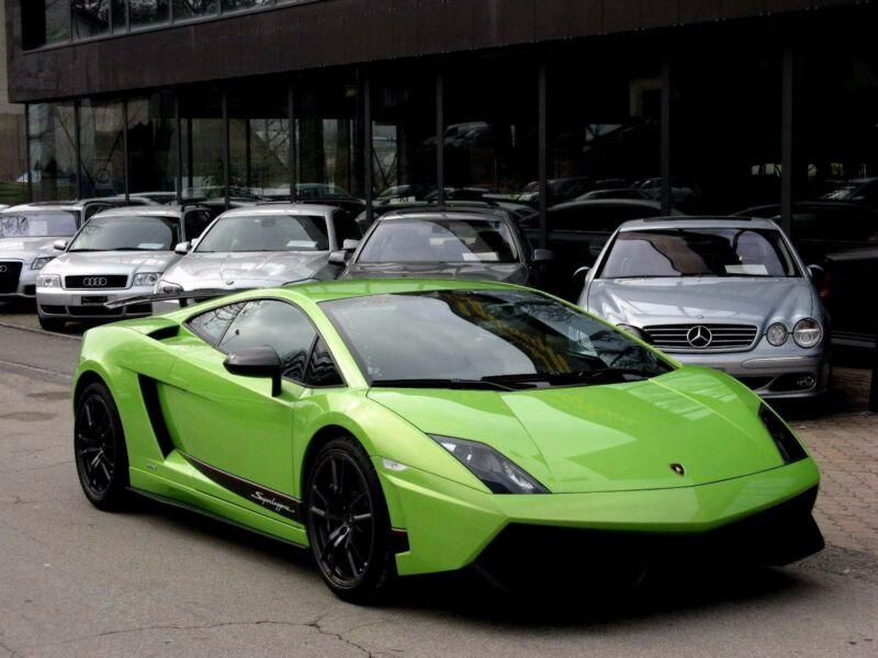 Lamborghini Gallardo LP570-4 E-Gear